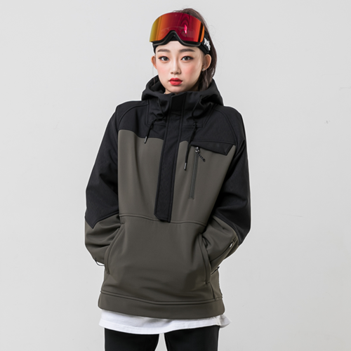 WITH ANORAK / OLIVE