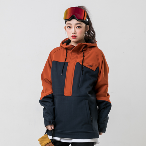 WITH ANORAK / ORANGE
