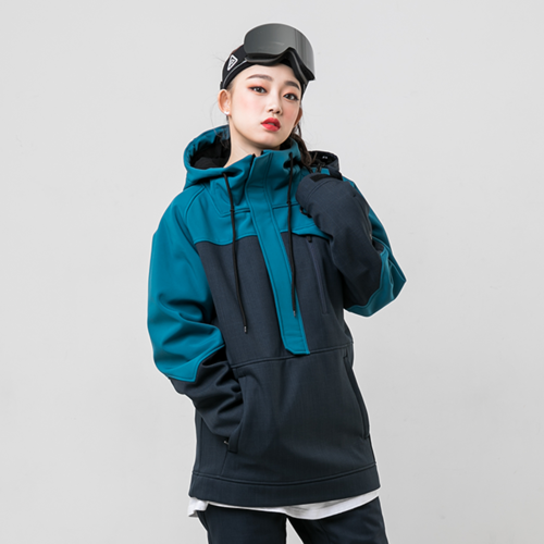 WITH ANORAK / TEAL