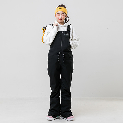 BIB PANTS / BLACK