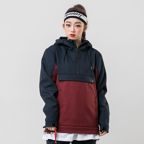 HOLD ANORAK / BURGUNDY