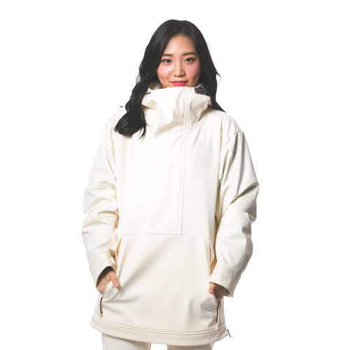 MELLOW ANORAK / CREAM