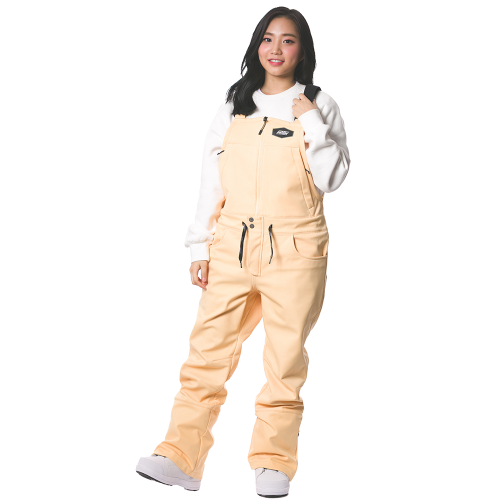 BIB PANTS / YELLOW BEIGE