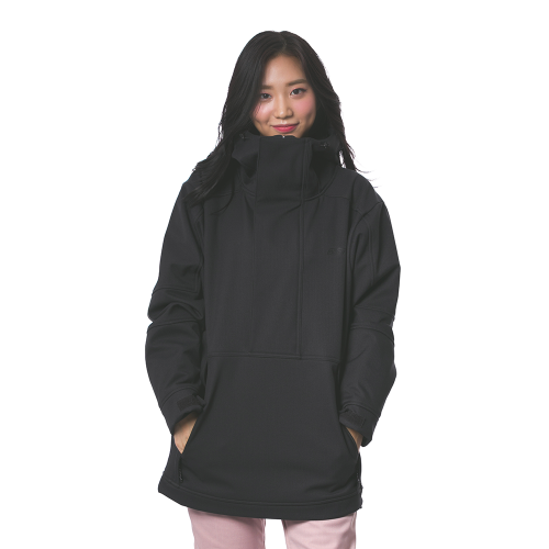 MELLOW ANORAK / BLACK